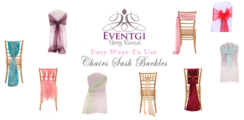 Chair Covers and Sashes Rental
