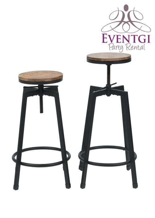 Vintage Bar Stools Rentals Rustic Bar stool Rental  : farmhousestylebarstoolsrental from www.eventgipartyrental.com size 500 x 700 jpeg 38kB