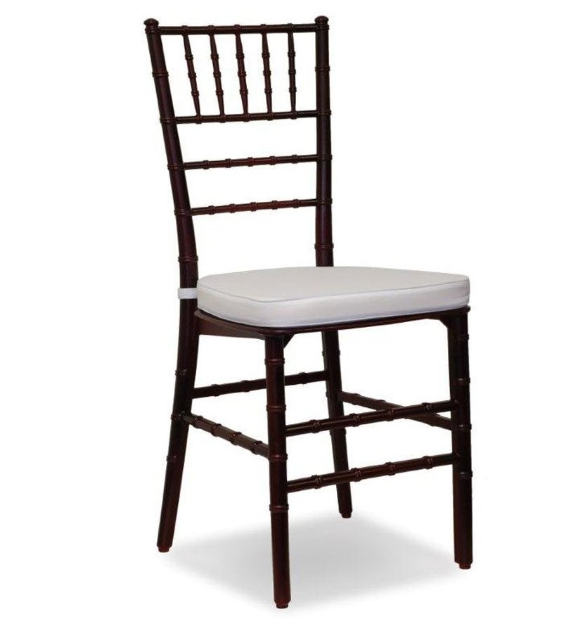 Mahogany Chiavari Chair For Rent In Miami