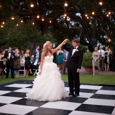 Checkered Dance Floor Rental Miami - Broward Palm Beach