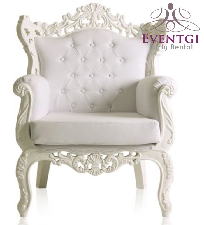 Furniture For Less Miami: Baroque Chair Rental In Miami