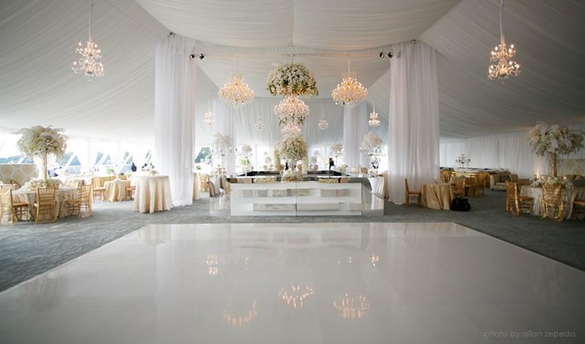White Dance Floor Rentals In Miami Broward Palm Beach