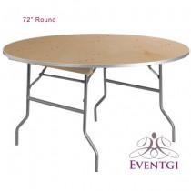 "72"" Round Table Rentals"