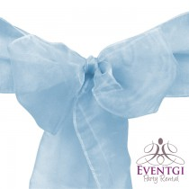 Baby Blue Sash for Rent