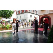 Black Dance Floor Rentals