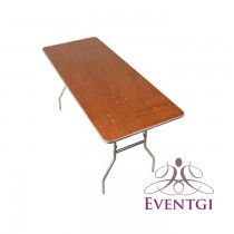 Plywood Table Rentals