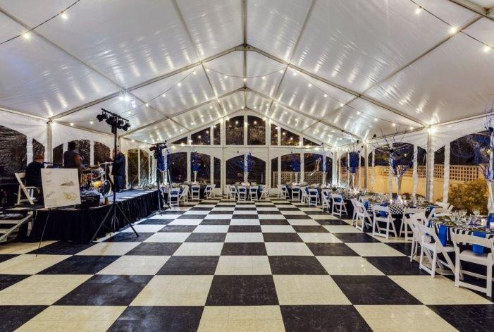 Checkered Dance Floor Rental