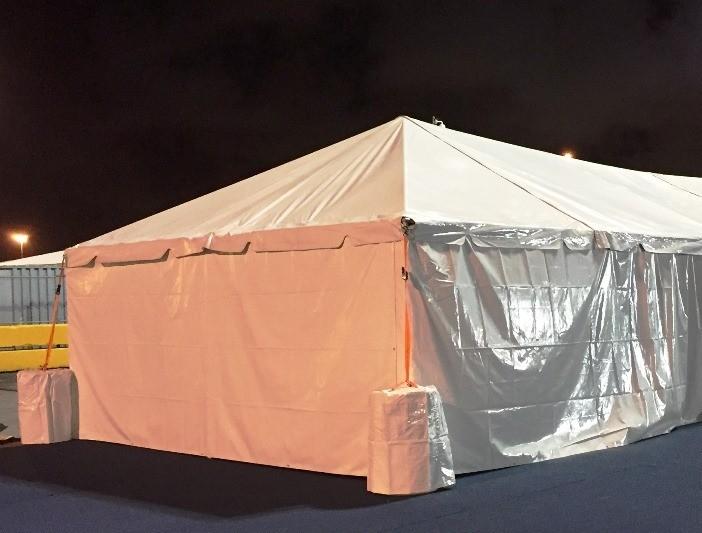 Tent Solid Sidewall Rentals in Miami - Broward - Palm Beach