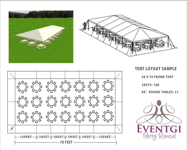 Tent Rentals 30x70