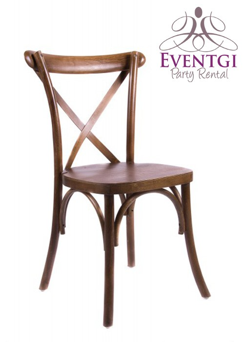 Cross Back Chairs Rentals