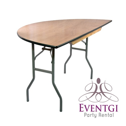 Half Round Table Rental