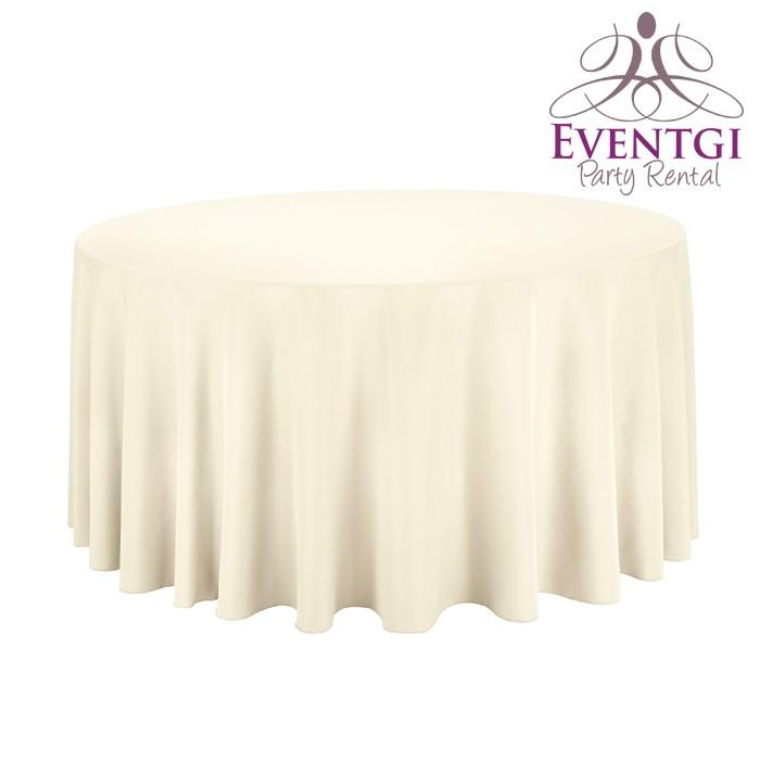 Ivory Table Linen Rental