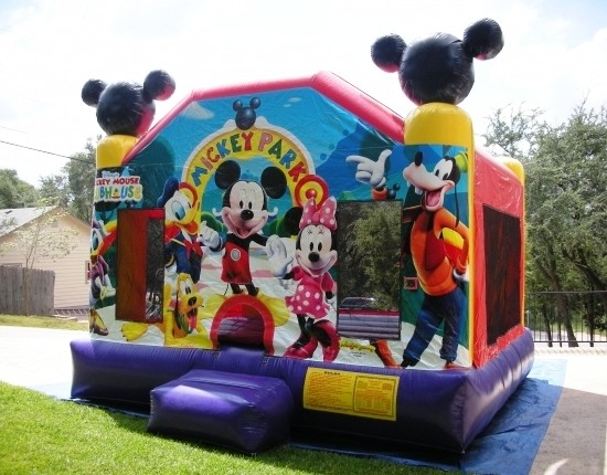 Mickey Mouse Bounce House Rentals