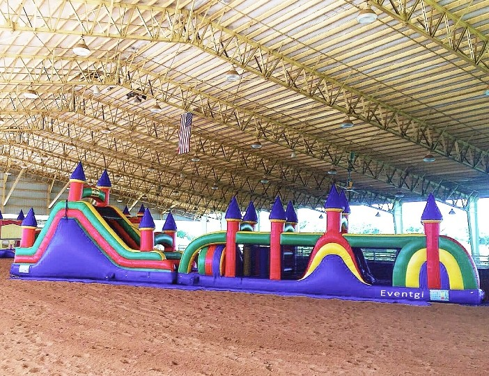 Huge Obstacle Course for Rent