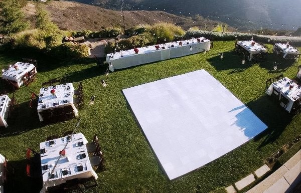 Outdoor Dance Floor Rental