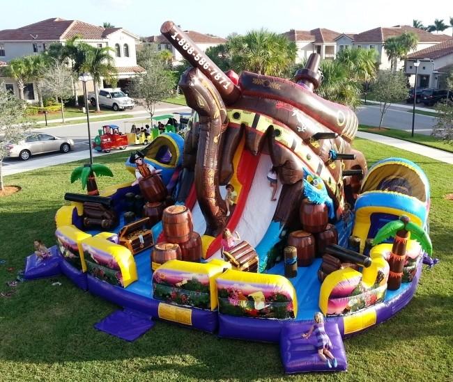 Pirate Island Bounce House