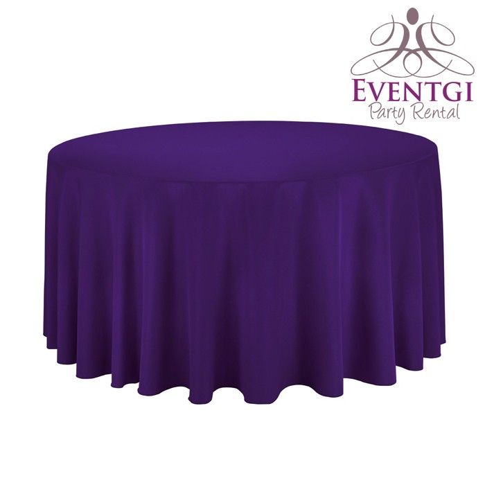 Purple Table Linen Rentals