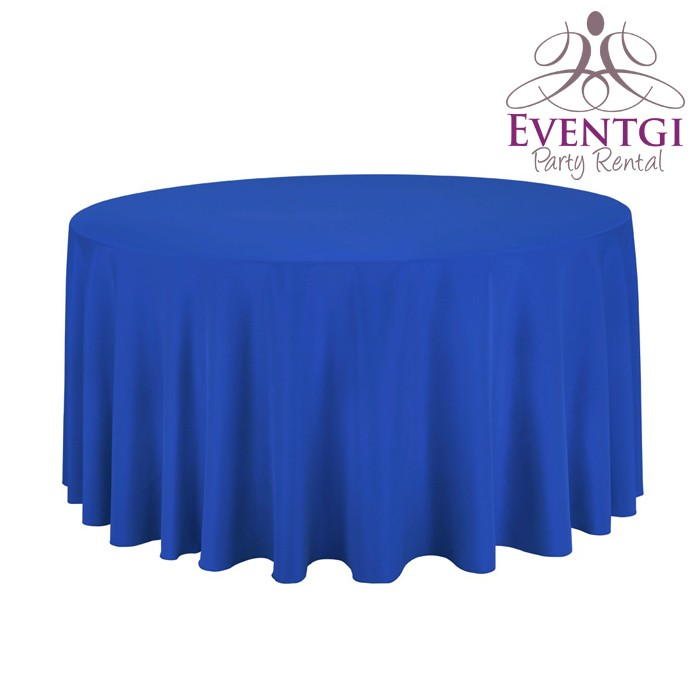 Royal Blue Table Linen for Rent