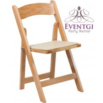 Wood Chairs Rentals