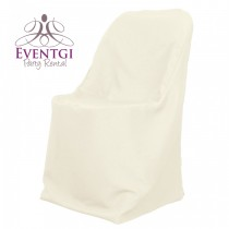Ivory Chairs Covers for Rent