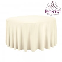 Ivory Table Linen Rental