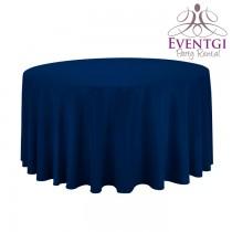 Navy Blue Table Linen Rentals
