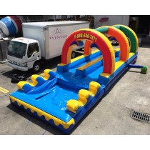 Inflatable Slip and Slide Rental