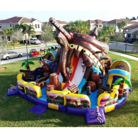 Pirate Island Bounce House