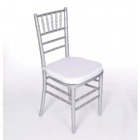 Silver Chiavari Chairs Rentals