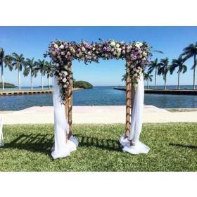 Wood Wedding arch Rentals
