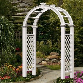 White Wedding Arch Rentals