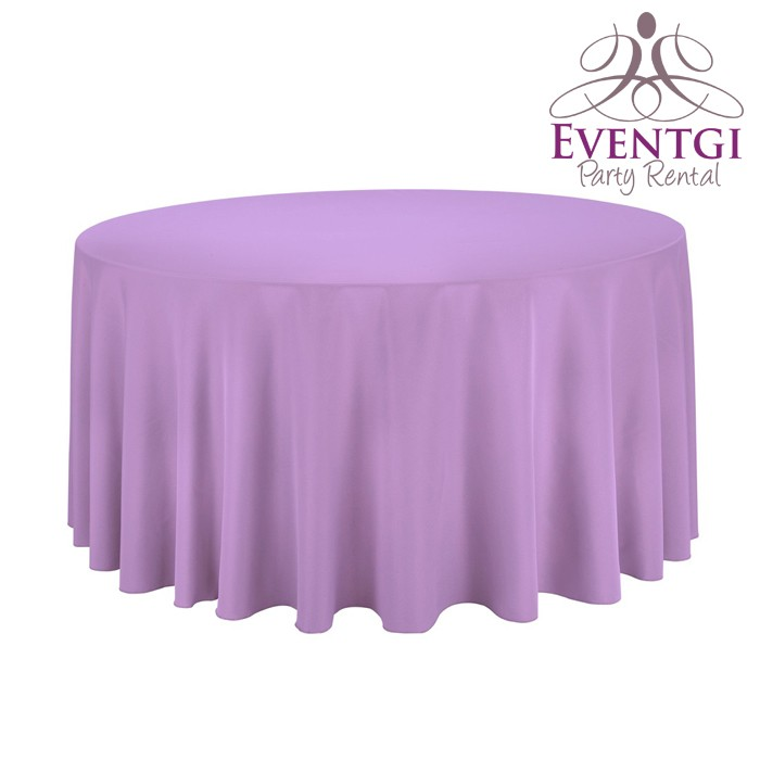 Lilac Table Linen Rental