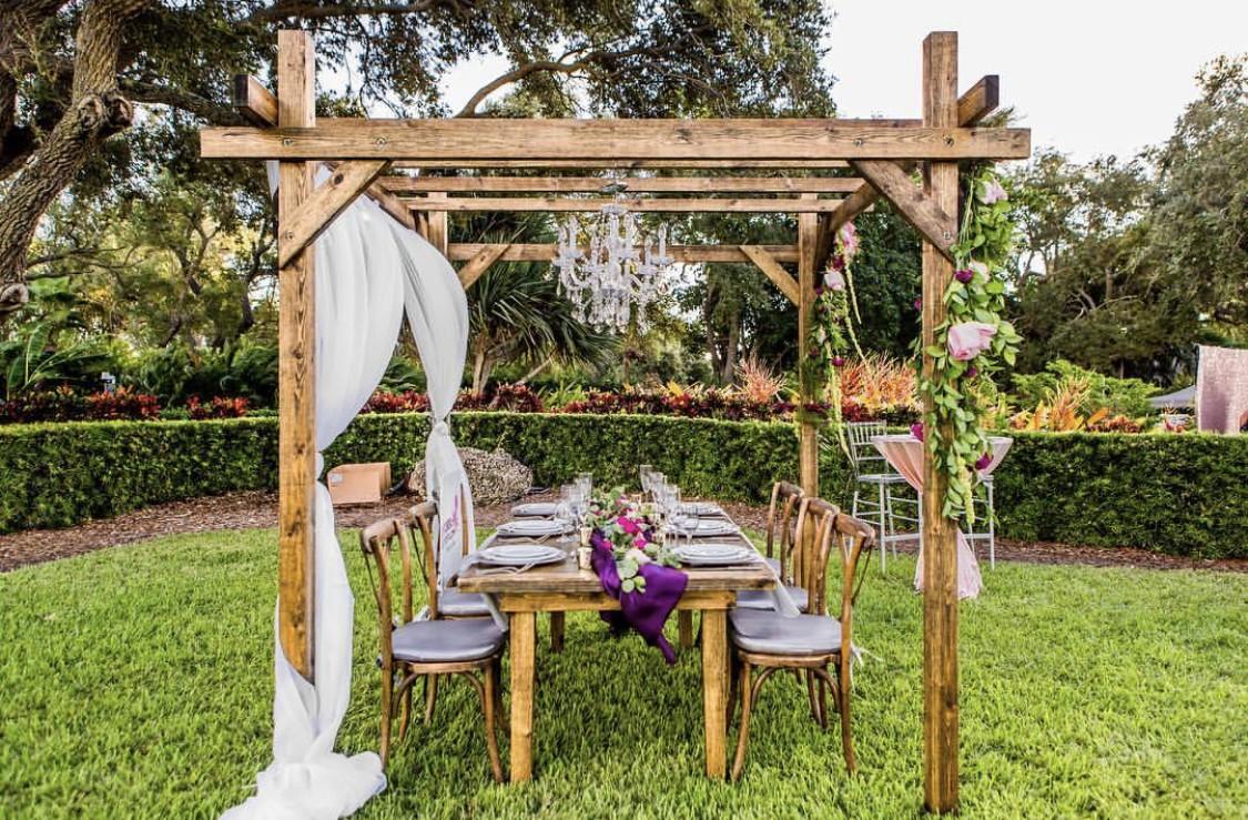 Wedding Arbor Rental