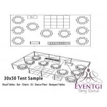 30x50 Tent Rentals